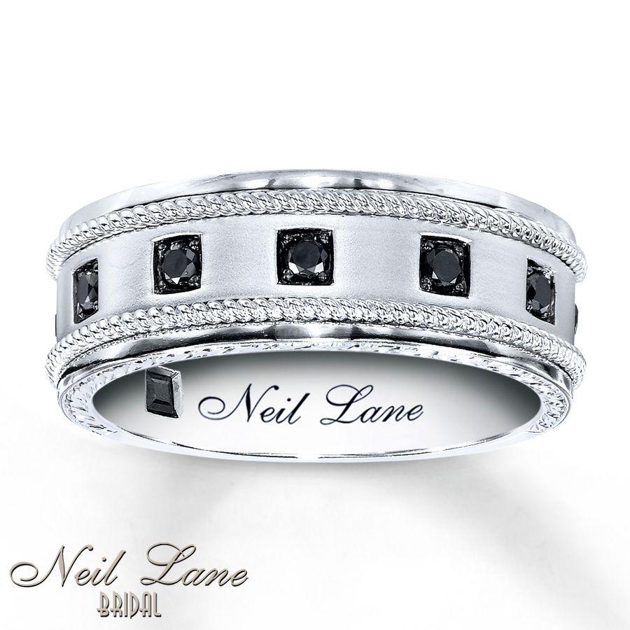 mens black diamond wedding ring neil lane wedding bands Neil Lane Men S Wedding Band Absolutely Beautiful We Ve Download