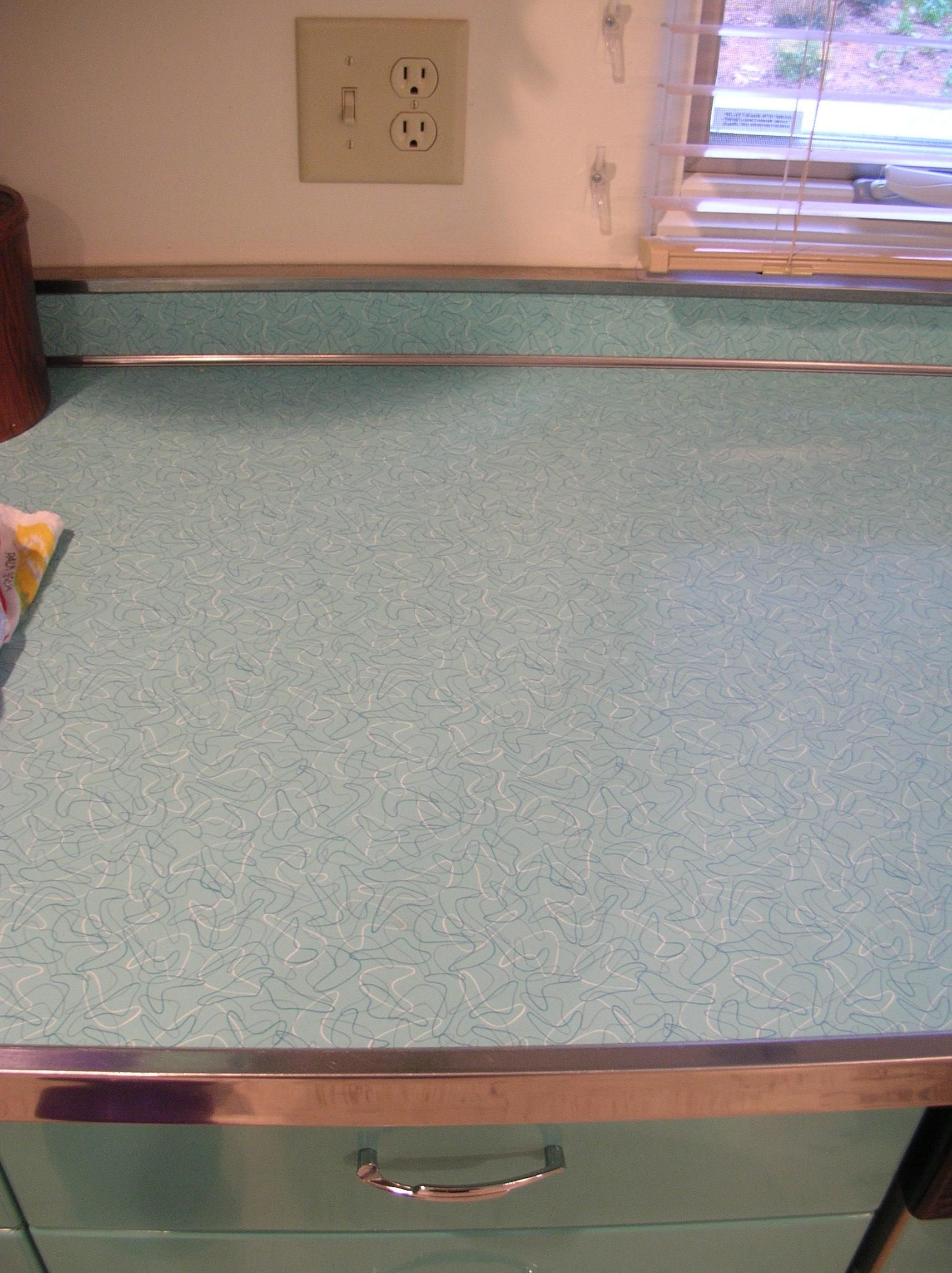 Vintage Laminate Countertops Stainless Steel Metal Edging For Your Laminate Countertop