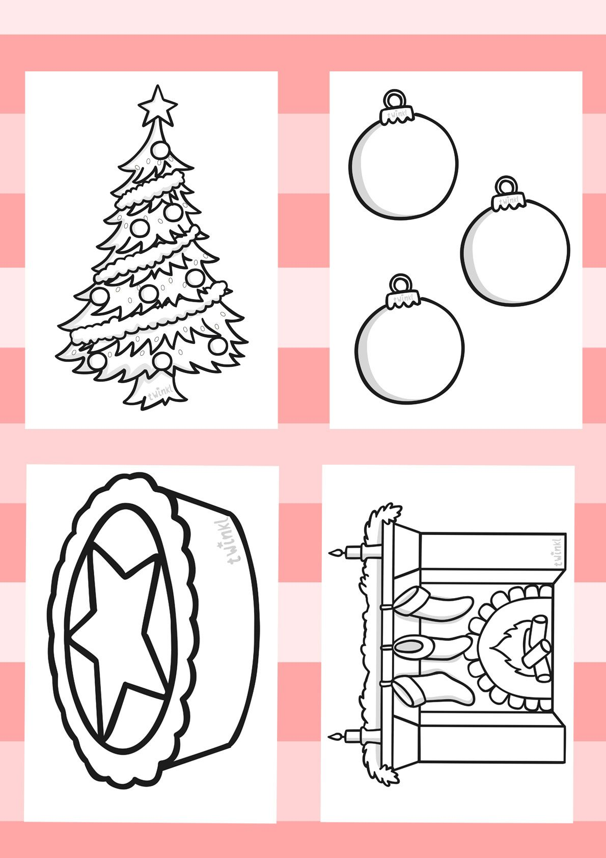 Twinkl resources christmas colouring sheets printable resources for primary eyfs
