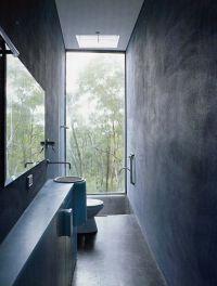 Bathroom Ideas, Narrow Bathroom Window With Under Mount ...
