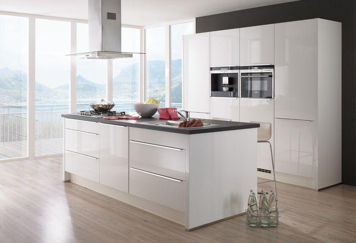 Weiße Küche5 Küche Pinterest Küche, Küchenfronten und Küchen - weise moderne kuche