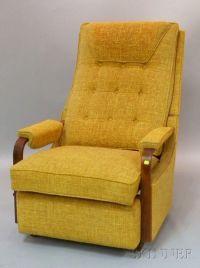 Mid century vintage Lazy Boy rocker recliner. Mad Men man ...