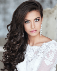 Wedding Hairstyles For Long Hair Down Curls | Fade Haircut