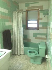 Bathroom:Cheap Mid Century Modern Bathroom Floor Tile With