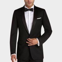 Calvin Klein Black Slim Fit Tuxedo - Tuxedos | Men's ...
