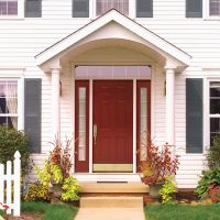 images for front door awnings | The Different Styles of ...
