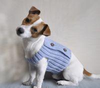 Knitting Pattern, Dog Sweater Pattern, Knit Dog Sweater ...