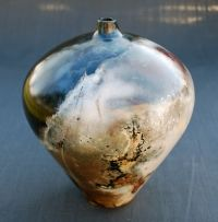 Raku Firing | Pit Fired Vessel cpcarlsonpottery ...