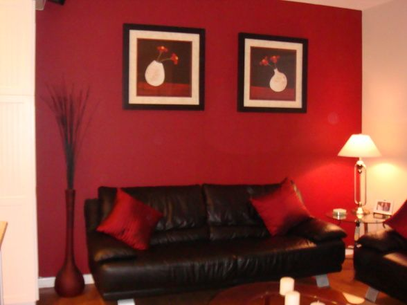 red and black living room Basement Pinterest Living rooms - black and red living room ideas