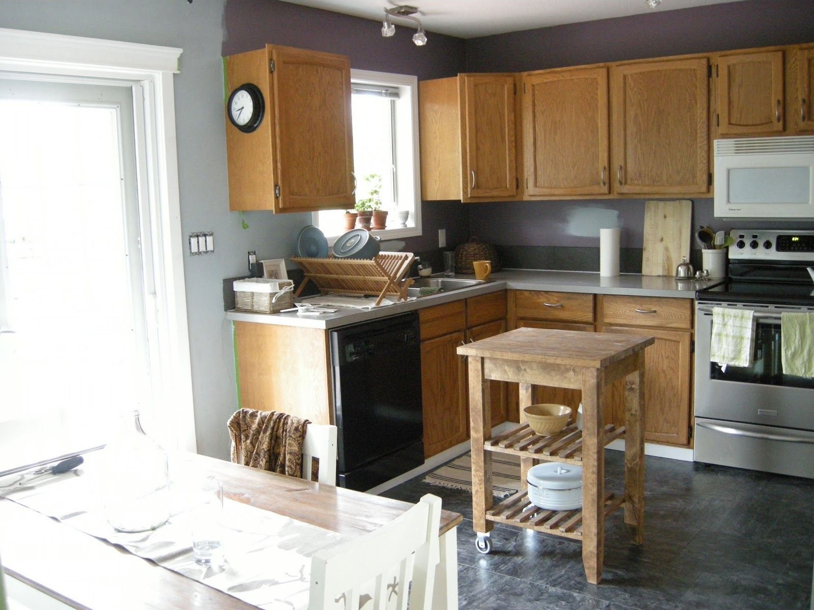 Grey Painted Kitchen Walls Besf Of Ideas Kitchen Wall Colors Gray Paint Decoration
