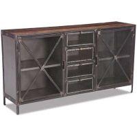 Industrial Metal Storage Cabinet | Dining Room | Pinterest ...