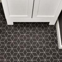 "Retro Rhombus 1.88"" x 3.18"" Porcelain Mosaic Tile in Gray ..."
