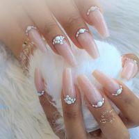 38 Pretty Coffin Ballerina Nails You Will Love   Ballerina ...