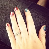 America flag painted fingernails | My Style | Pinterest ...