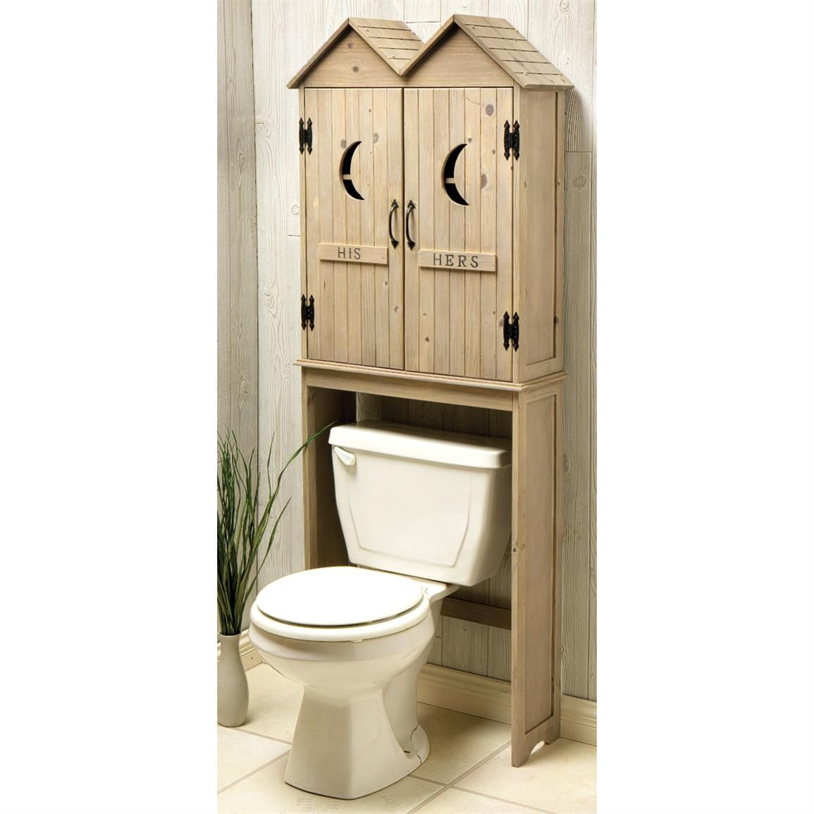 Space Saver Cabinets Kitchen Bathroom Storage With A Helping Of Humor Outhouse Space