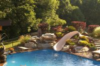 inground pools with rock slides | Subscribe to our Blog ...