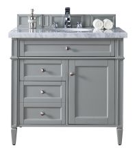 "36"" Brittany Single Bathroom Vanity Urban Gray 
