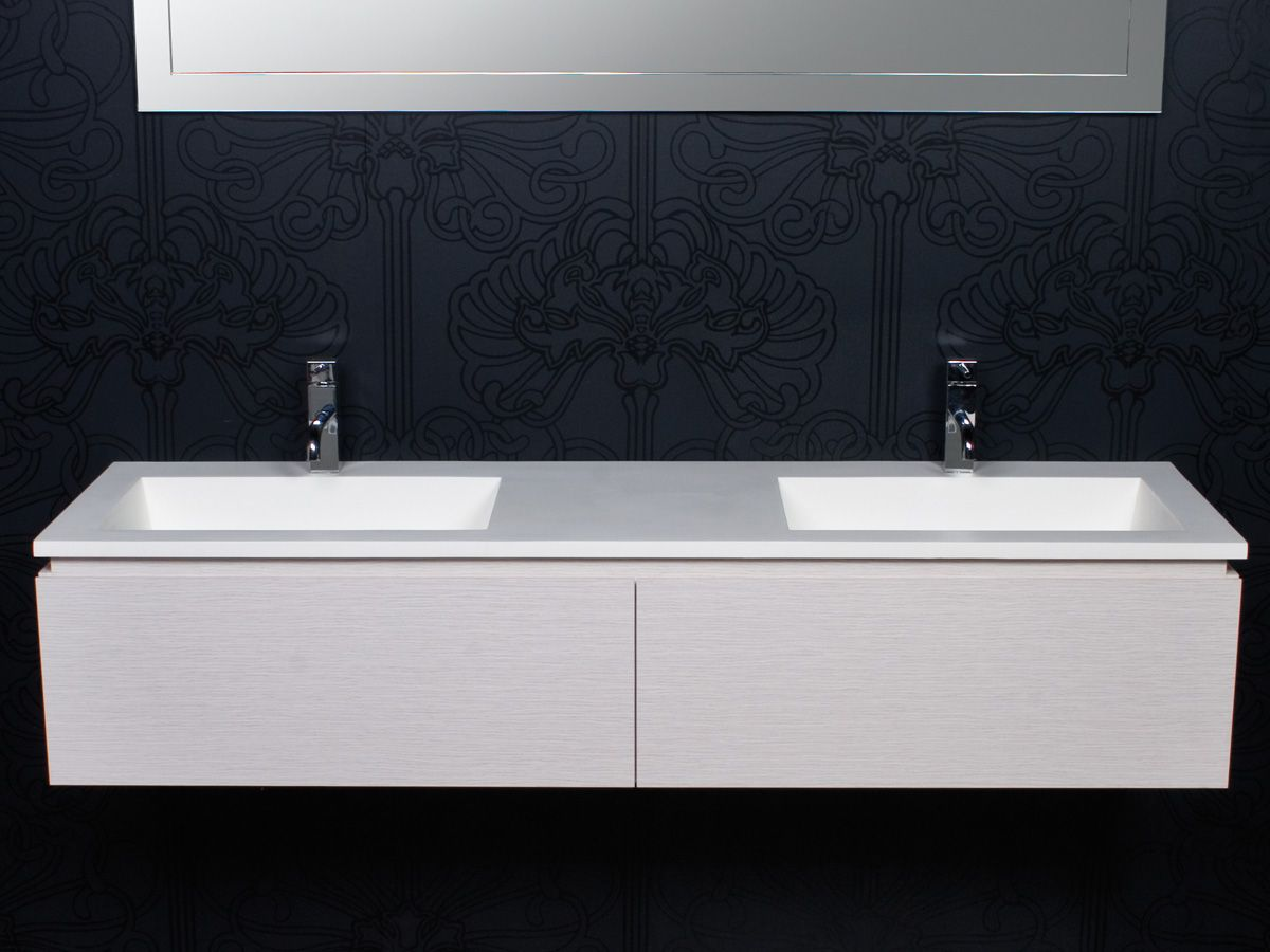 Reece bathrooms cibo tasca 1500 wall hung vanity
