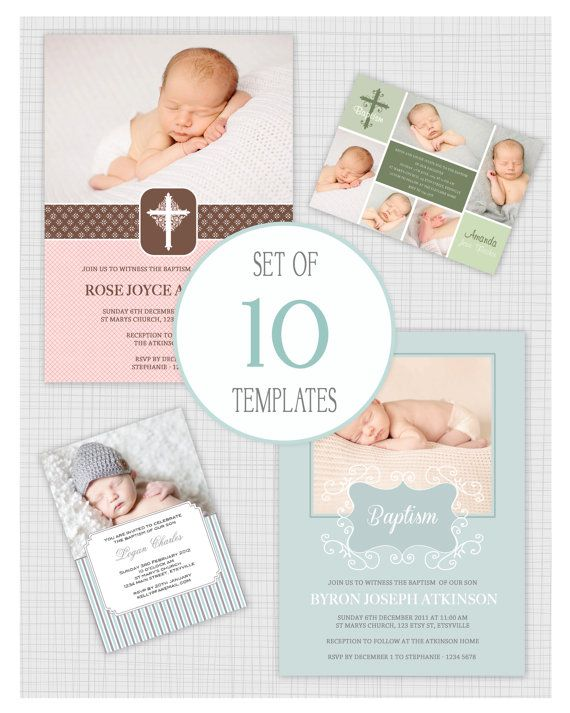 Christening Invitation Template Psd Free Download Battesimo - free download invitation templates