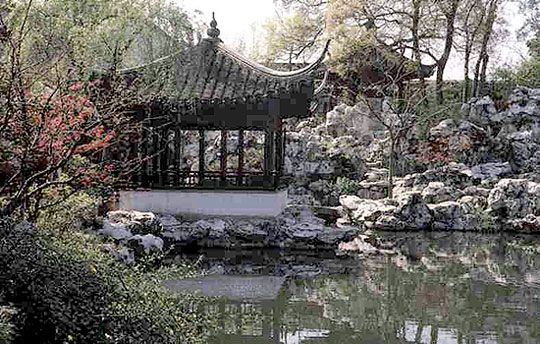 Chinese Water Garden Design Puutarha  itämaisia puutarhoja - chinese garden design