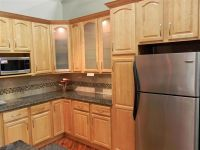 kitchen maple cabinets | ... brookfield maple cathedral ...