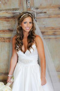42 Wedding Hairstyles With Veil | Veil hairstyles, Veil ...