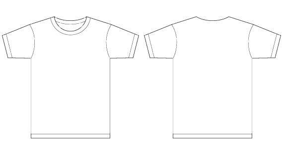 Men T-shirt Template Vector T-Shirt Templates Pinterest - t shirt template