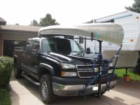 Thule Goalpost Hitch Mounted Load Bar | Canoeing, Truck ...