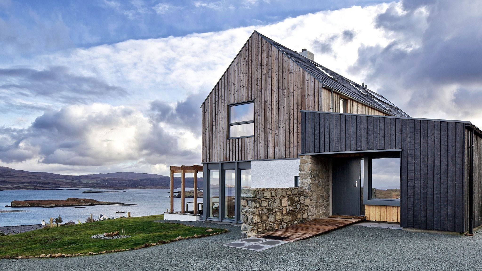 House Designs Scotland Colbost Rural Design Architects Isle Of Skye And The