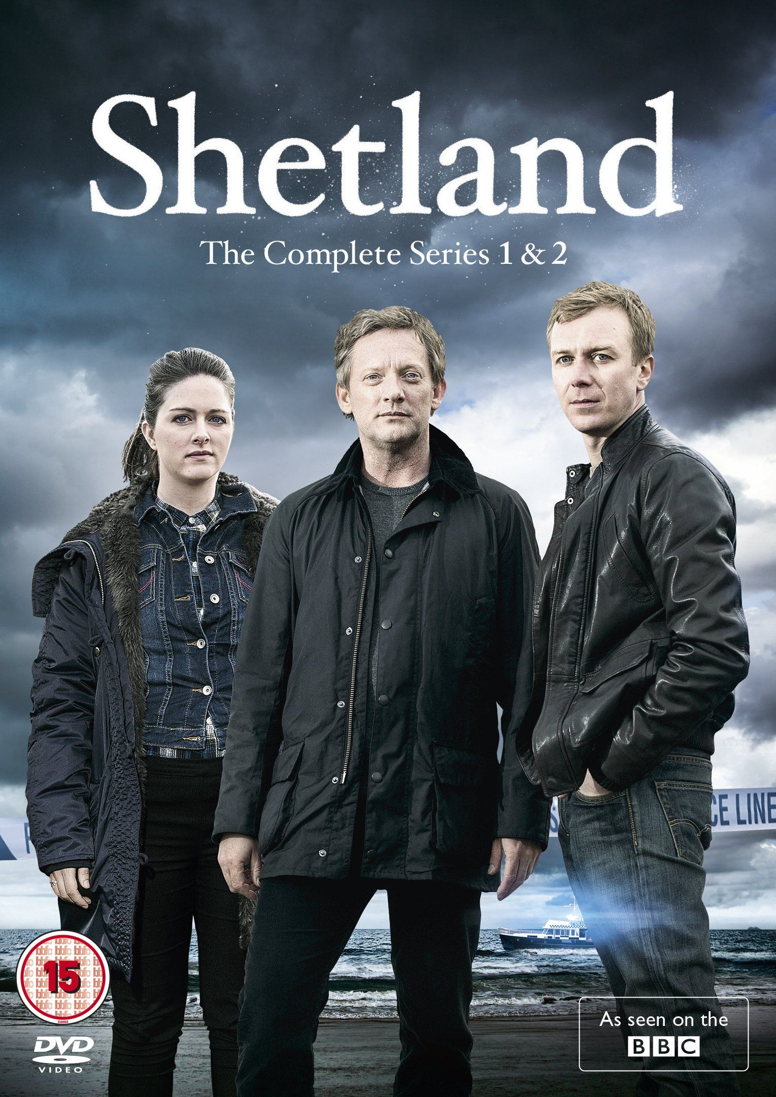 Serie Doug Amazon Shetland Series 1 2 Dvd Non Usa Format