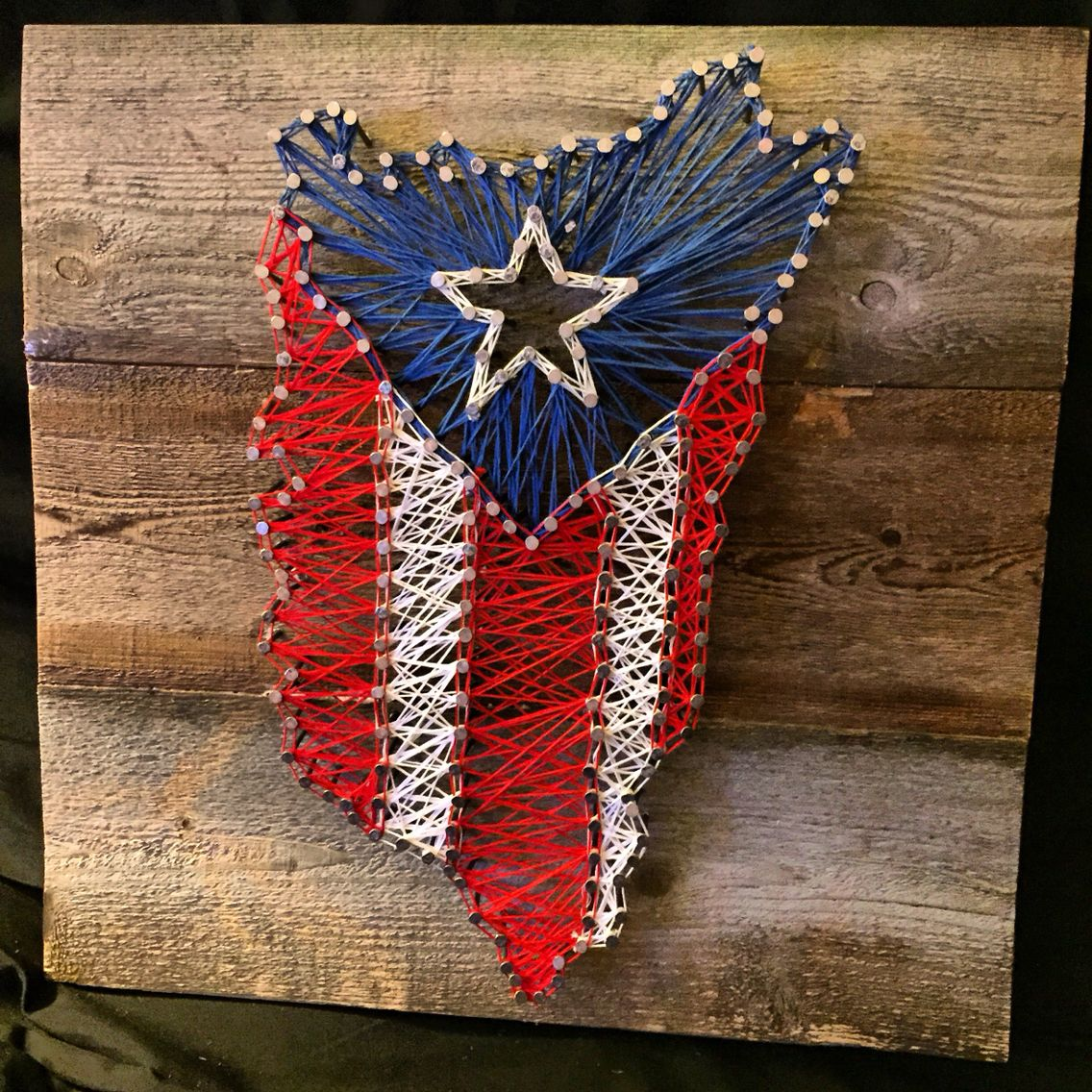 Puerto Rican Flag Art