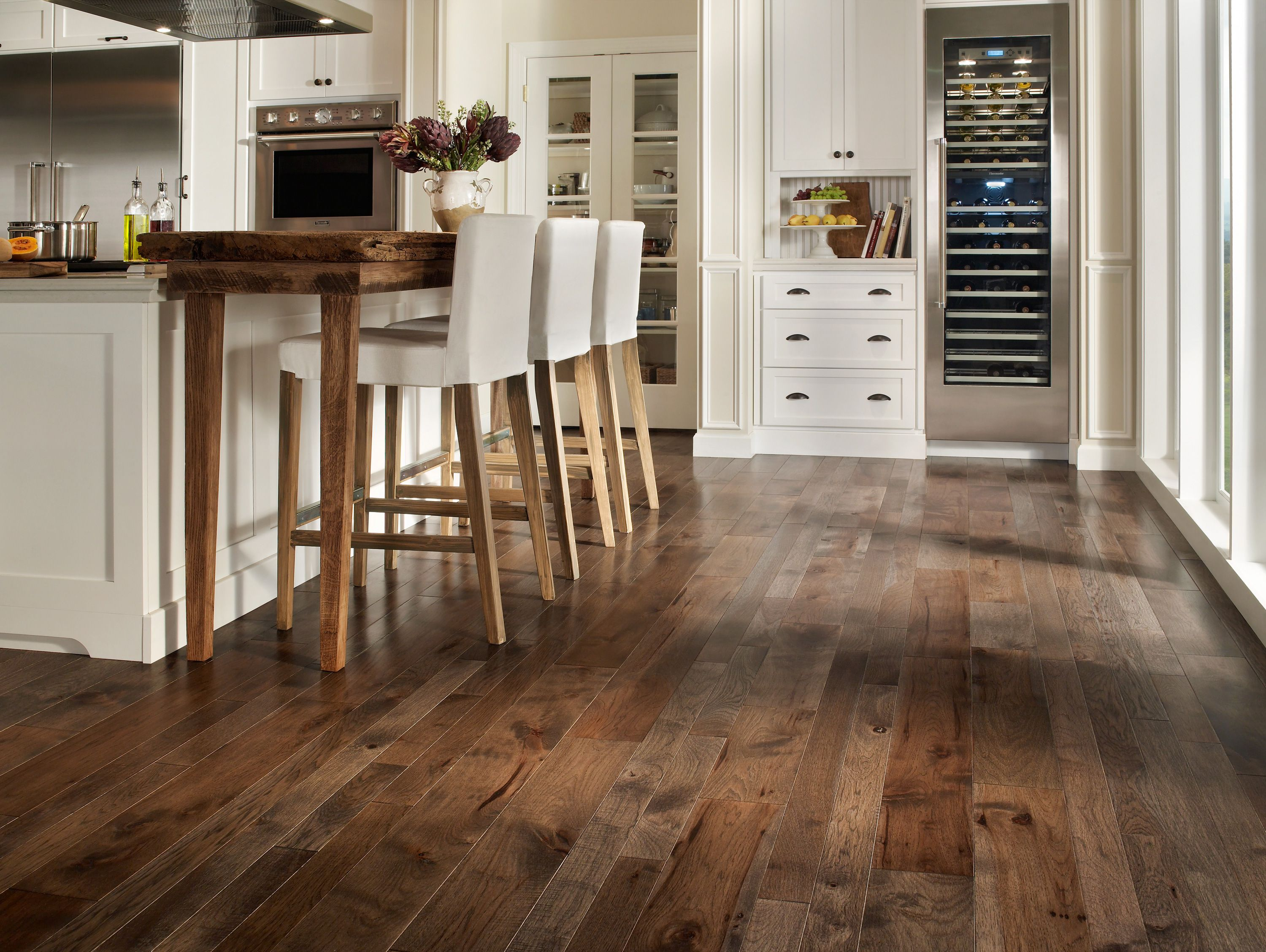 kitchen wood floors A Closer Look at Bamboo Flooring The Pros Cons