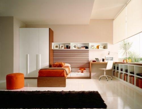 Jugendzimmer wandgestaltung farbe mädchen  Farbgestaltung-wnde-jugendzimmer-84. wohndesign 2017 cool ...