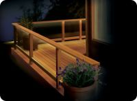 Eco-Friendly DIY deck lighting project using the 6 ft. LED ...