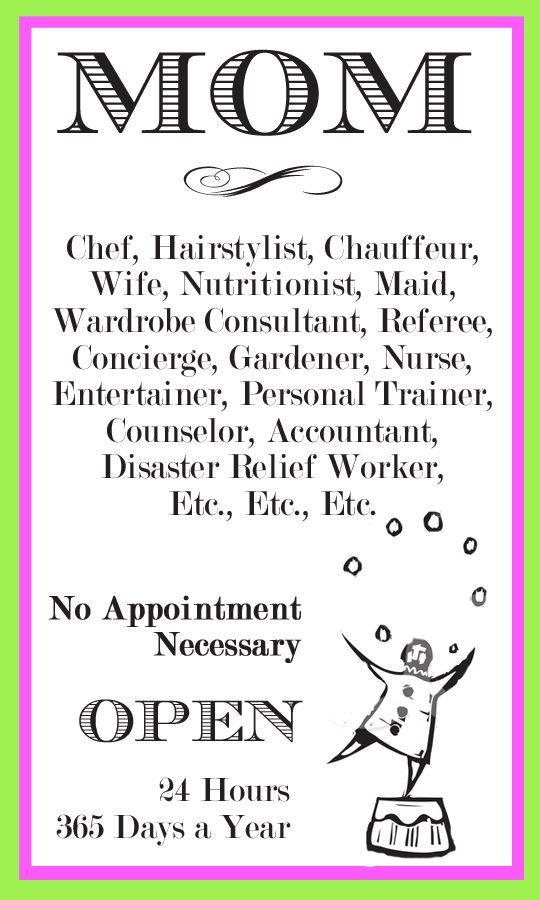 How I Love Being a Mom - Read Job Description Here! u003c3 Quotes - hairstylist job description