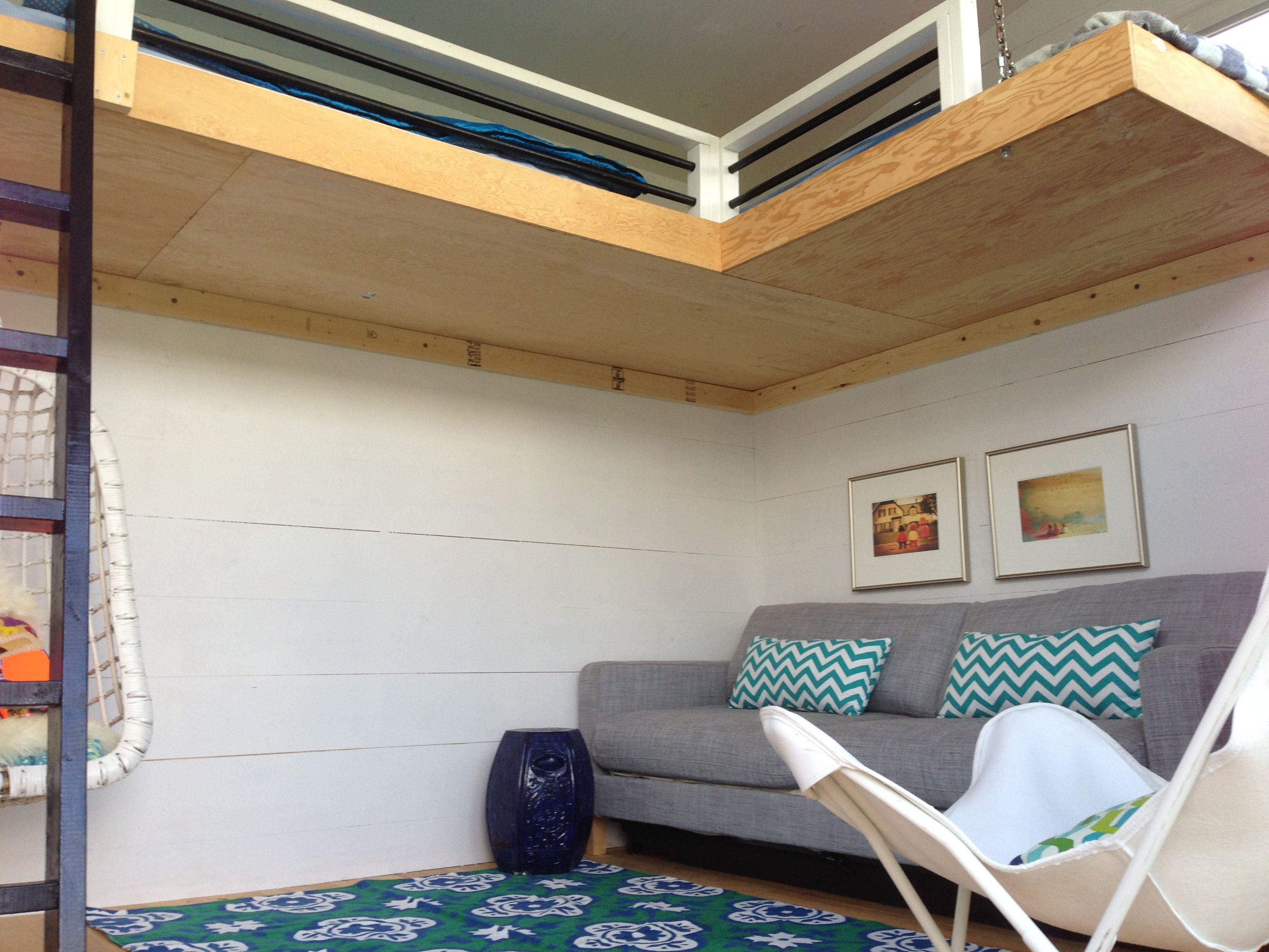 Bed Suspended From Ceiling Our Interiors Are Completely Flexible This Unit Has Two