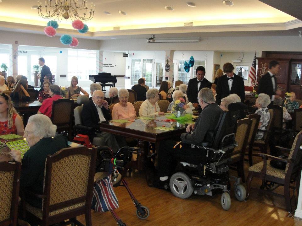 Put on a  - nursing home activity ideas