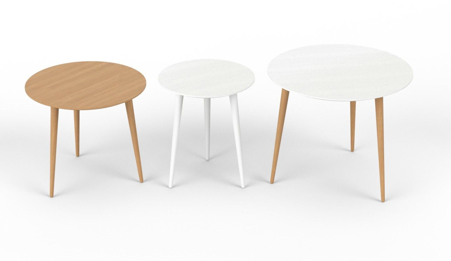 Germania Couchtisch Annas Mycs Coffee Tables In White And Oak Mycs Makeityours