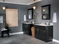 lattice bathroom two door floor cabinet black | Stribal ...