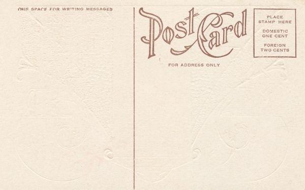 Gallery For u003e Blank Postcard Back design Pinterest Postcard - printable postcard template free