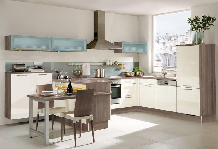 Küche in Creme \/ Kitchen in beige küche Pinterest Kitchens - beige kuche