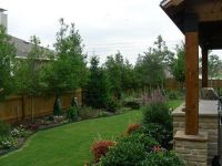 Landscaping Along Fence on Pinterest | Privacy Fence ...