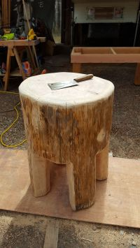 homemade rustic butcher block table | butcher block ...