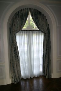 Arched Window Treatments Home Decoration Ideas Half Circle ...