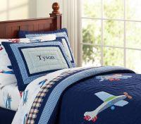 Pottery barn kids plane bedding | Big Boy Bedroom Ideas ...