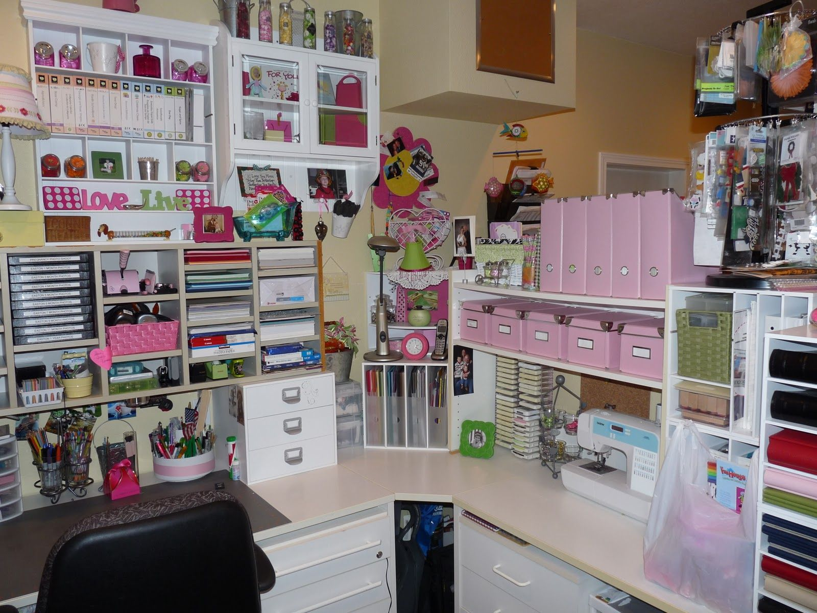 Crafty storage pin now read later website is full of amazing storage solutions scrapbook room storage ideas