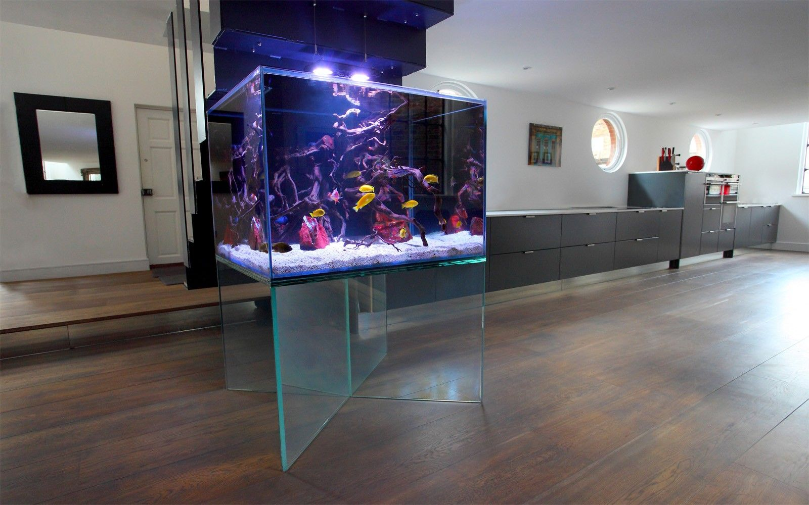 Meerwasseraquarium Im Wohnzimmer Luxury Aquariums Luxury Townhouse Aquarium Aquarium