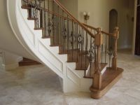 Bellow we give you modern design steel staircase railings ...