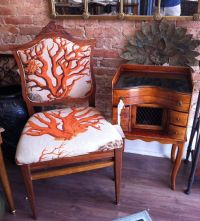 Reupholstered Antique Chairs | Antique Furniture