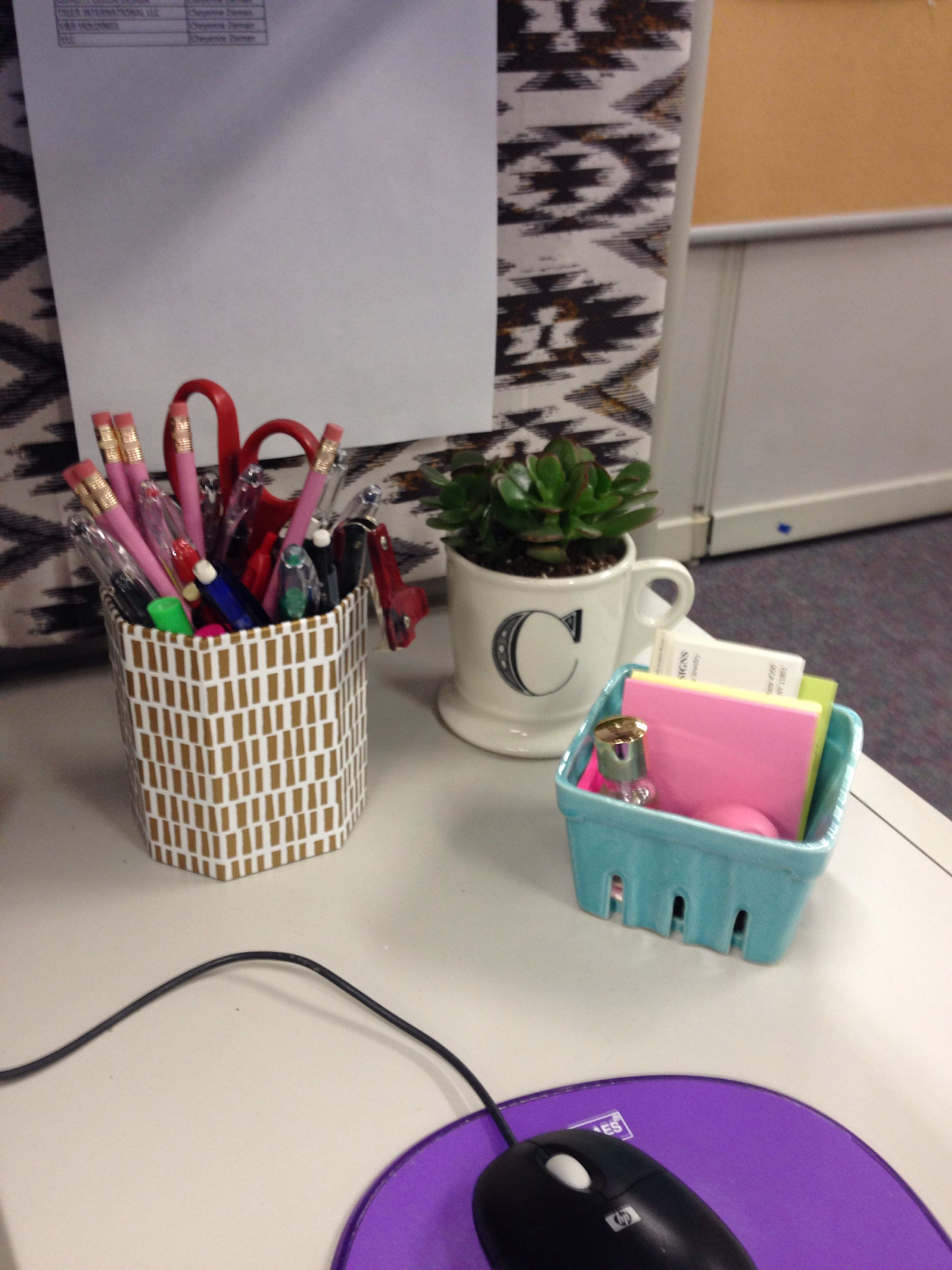 Cubicle Plant Holders Cubicle Decor Desk Accessories For The Home Pinterest